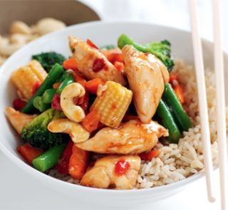 Sweet chilli chicken and cashew stir fry healthy food guide sweet chilli chicken and cashew stir fry healthy food guide forumfinder Images
