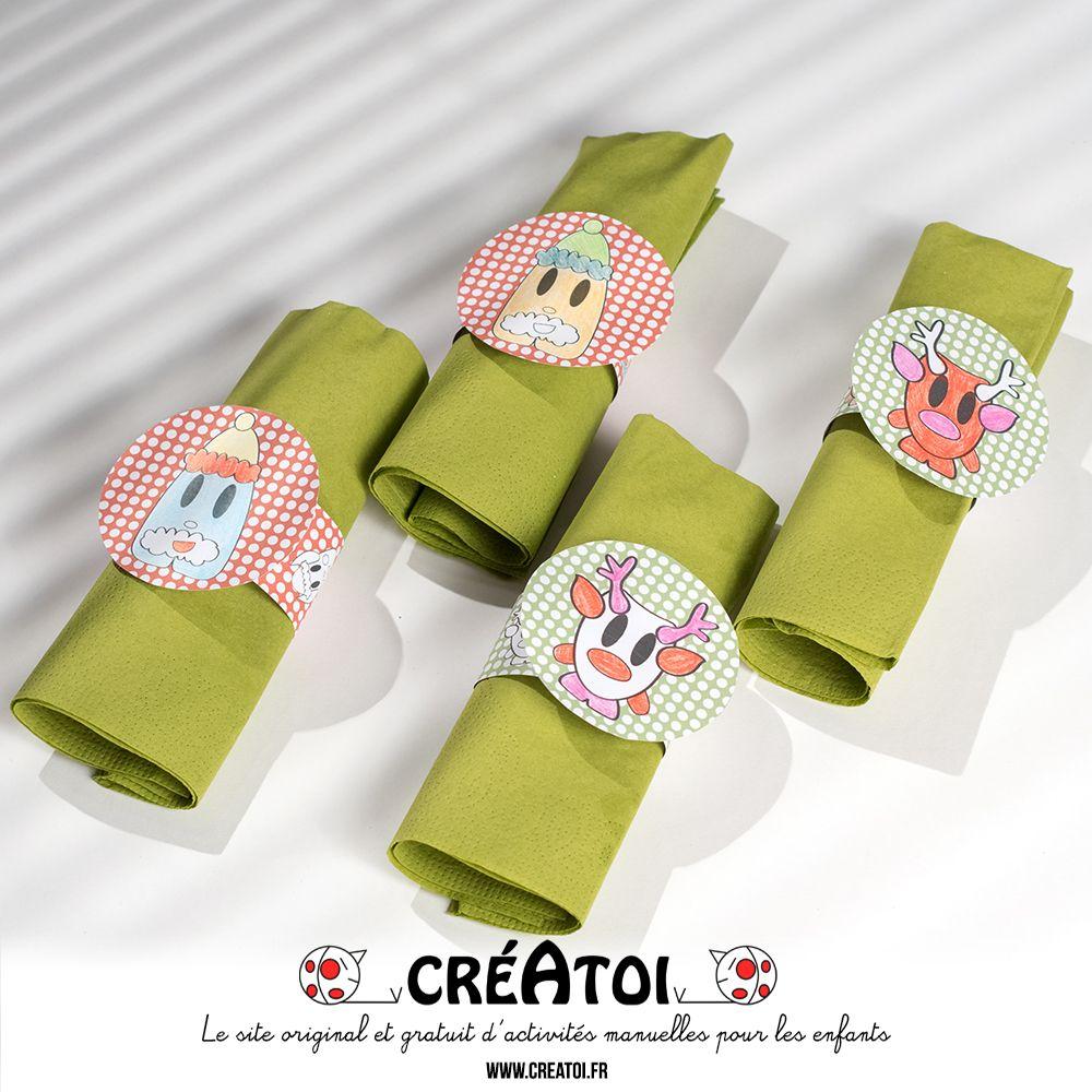 Rond De Serviette A Fabriquer Pour Noel mes ronds de serviettes - de jolis ronds de serviettes pour