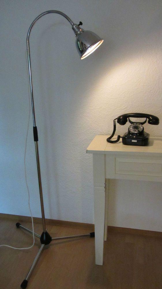 Details zu Stehlampe Arztlampe Lampe Christian Dell Leuchte \'30er ...