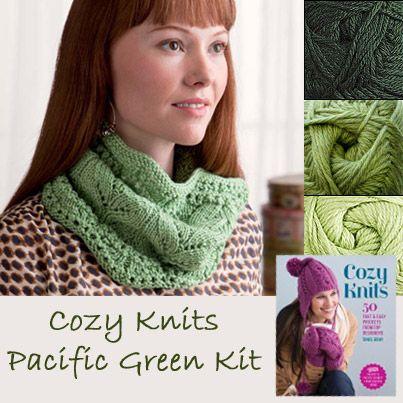 Cozy Tejidos Pacífico Verde Kit