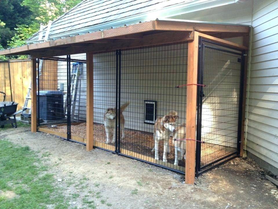 indoor outdoor kennels indoor outdoor dog kennel large crate ideas rh pinterest com