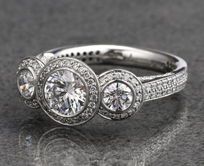 What Does A Three Stone Engagement Ring Symbolize
