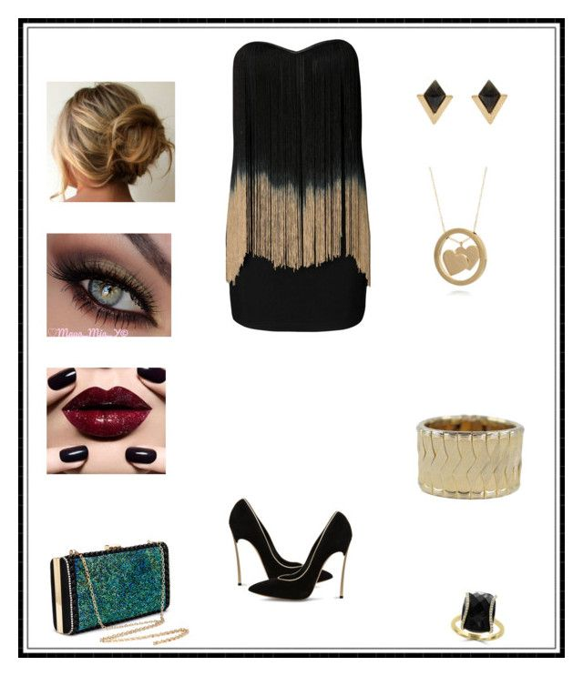 """""""Untitled # 211"""" by binasa87 ❤ liked on Polyvore featuring Rare London, Accessorize, Belk & Co., Casadei and Effy Jewelry"""