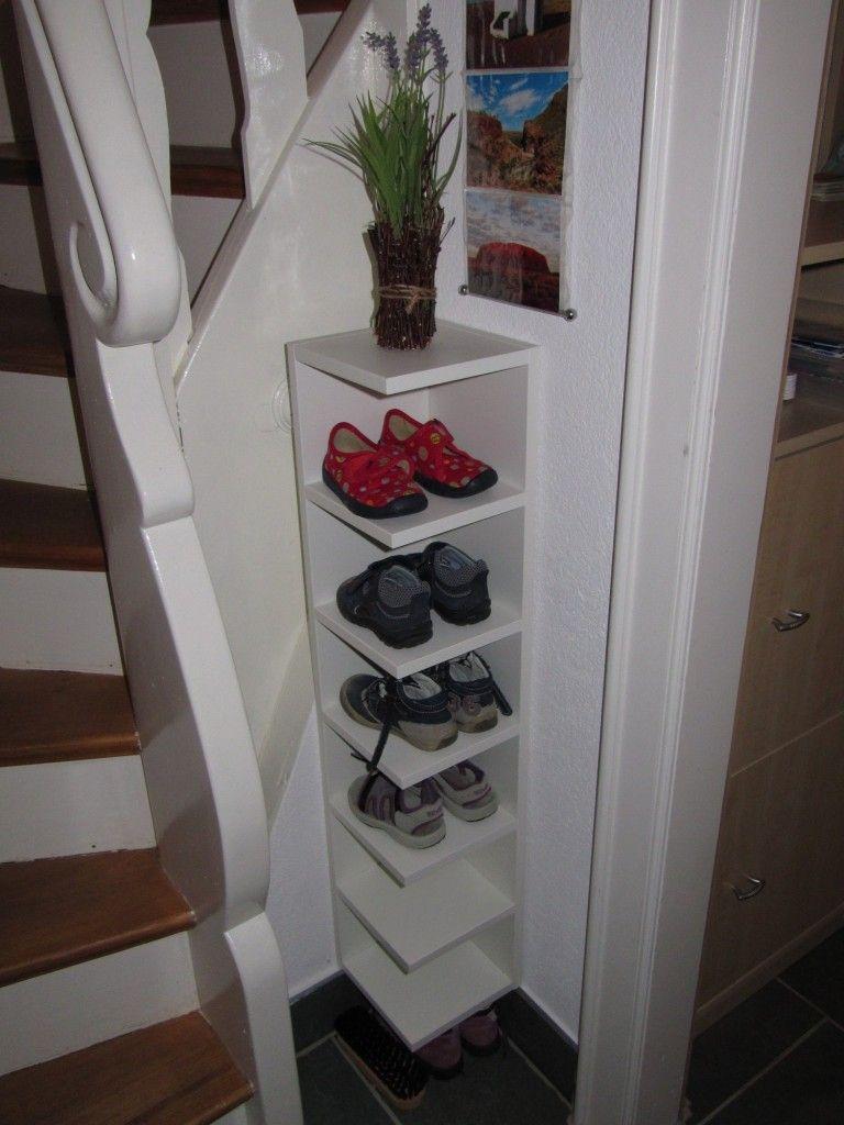 shoe storage ikea hack