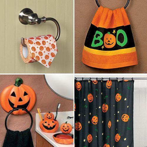 Ya mañana es halloween y para celebrar este día tan tenebroso, les - halloween bathroom sets
