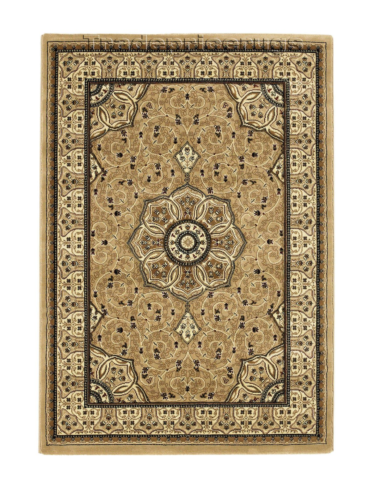 Small Extra Large Traditional Clic Thick Luxury Soft Wool Look Heritage Rugs