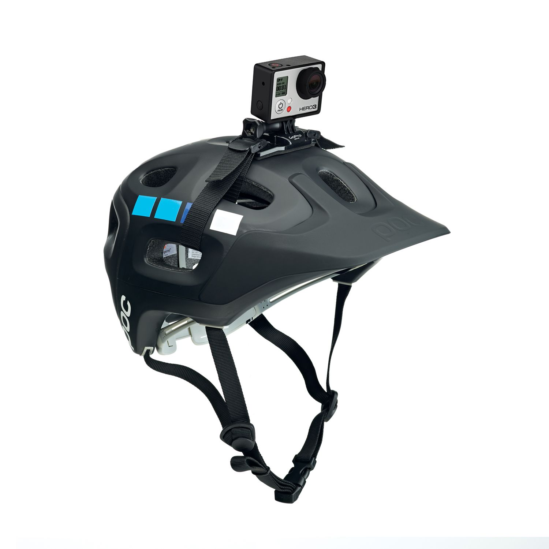 Vented Helmet Strap Mount Gopro Official Store Wearable Digital