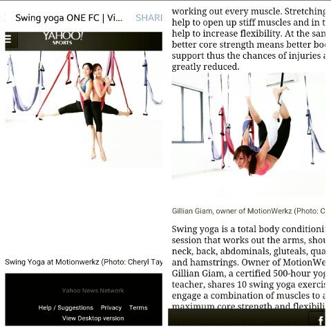 Swing Yoga For Mma Fighters Increase Flexibility Stiff Muscles Yoga