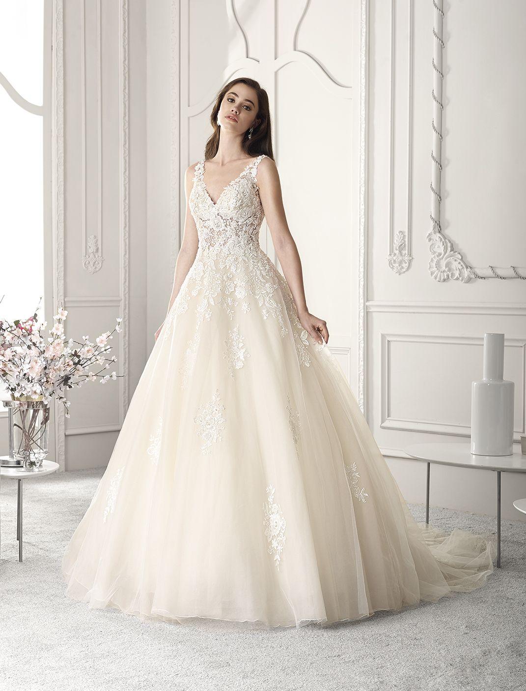 Vestidos novia corte princesa 2019
