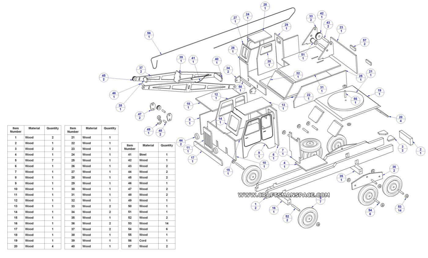 Woodworking Wooden Truck Plans Free Free Download