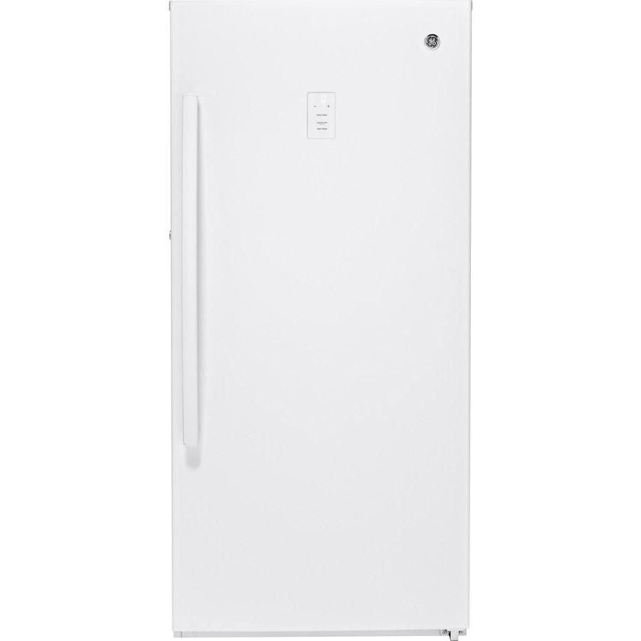 GE 14.1cu ft Frostfree Upright Freezer (White) ENERGY