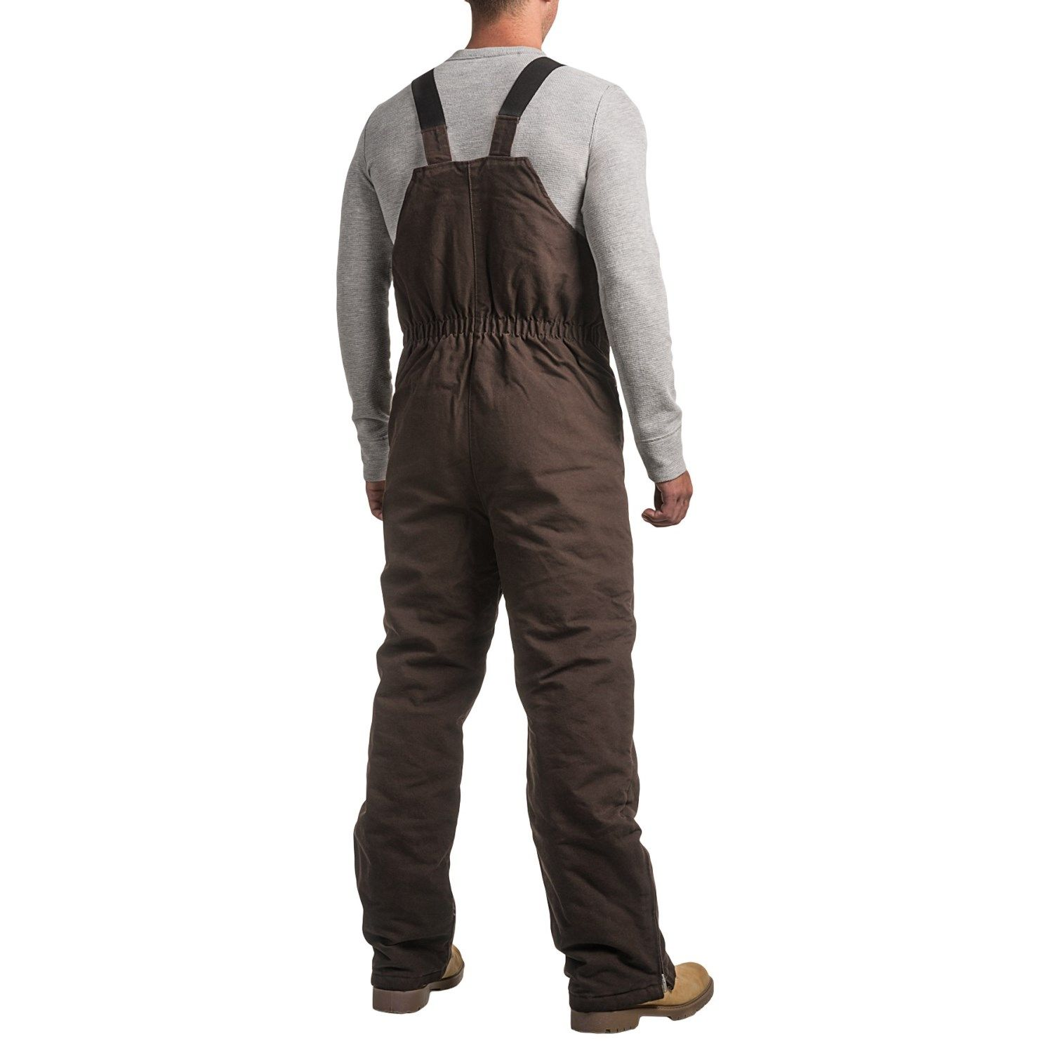 work horse washed bib overalls insulated for men on insulated work overalls id=28867