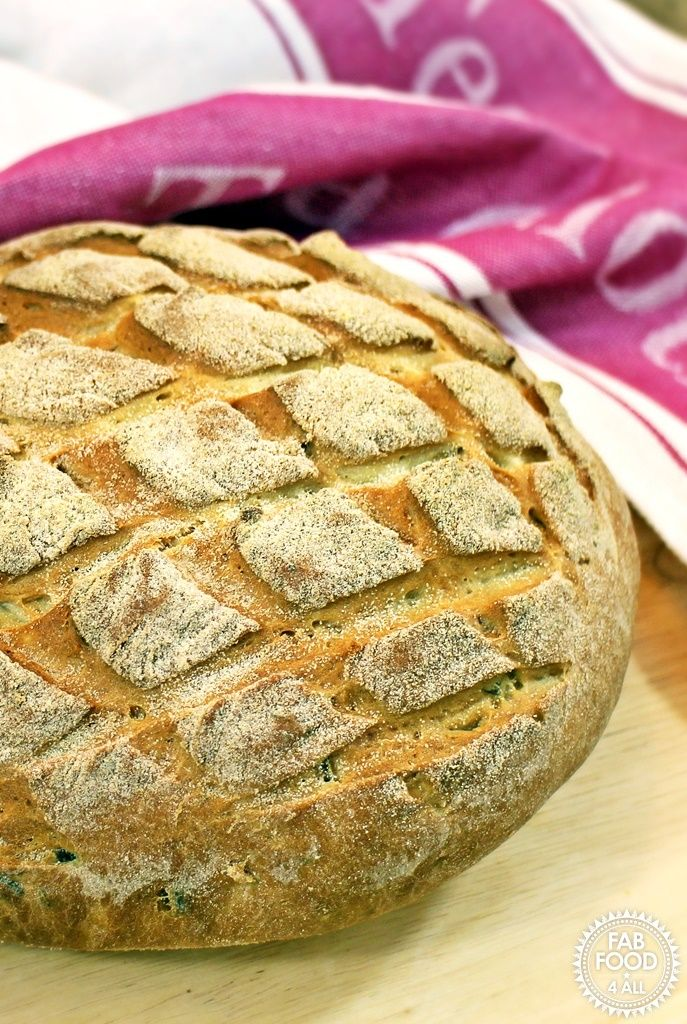 Olive and Parmesan Cob Loaf + KitchenAid Artisan Stand Mixer Review