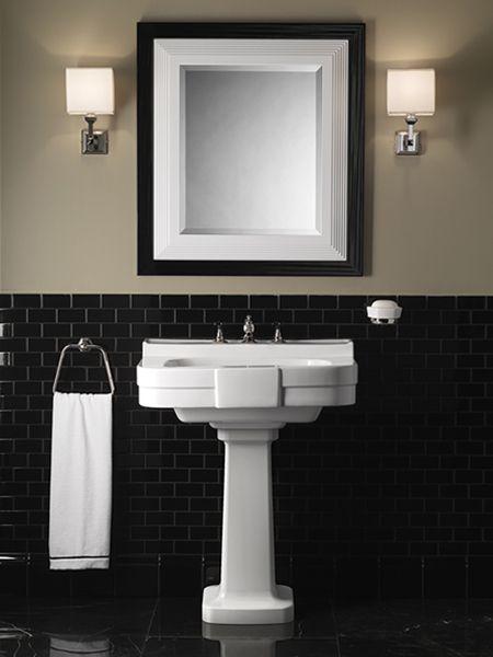 salle de bain années 20