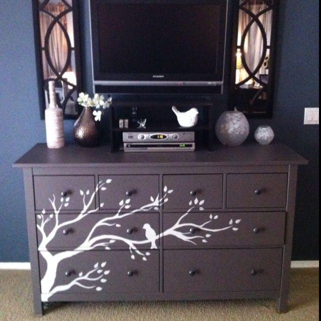 Hand Painted Dressers Hand Painted Dresser Diy Ideas Bedroom