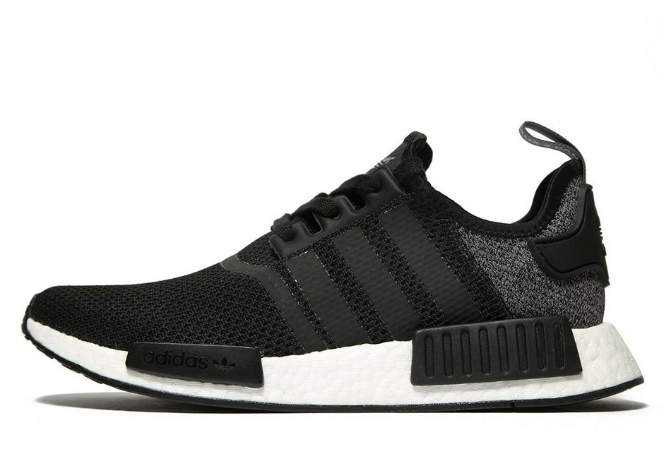 79d5dfc5 adidas NMD R1 Wool Heel Black Grey Available Now | What's Crackin ...