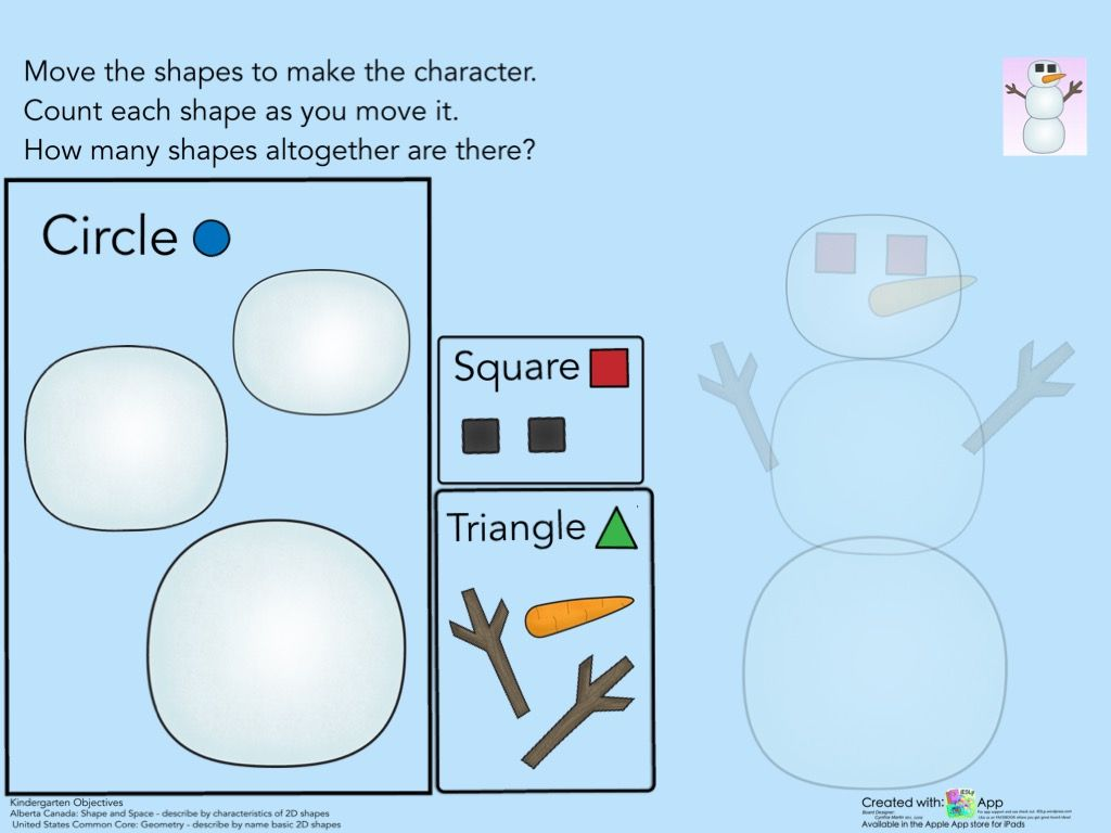 Pre School Kindergarten Geometry