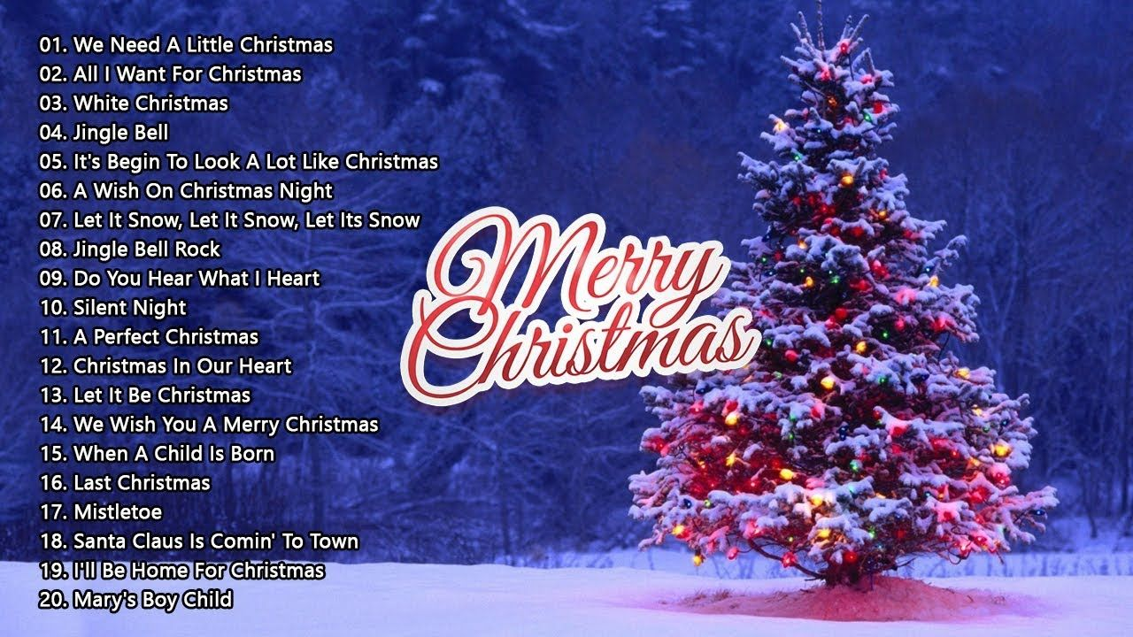 2019 Christmas Music.Merry Christmas 2019 The 40 Most Beautiful Christmas Songs