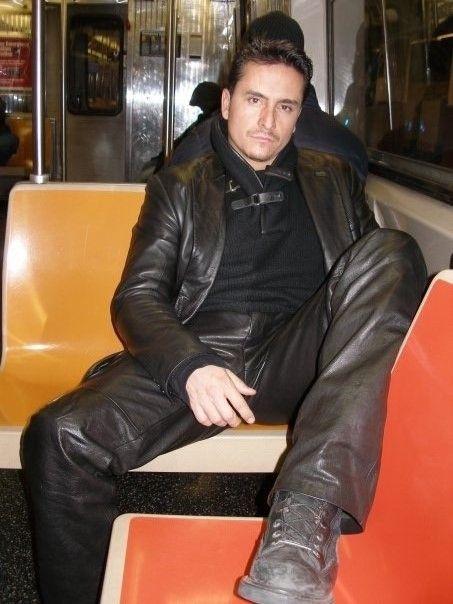 LeatherBlazerMen