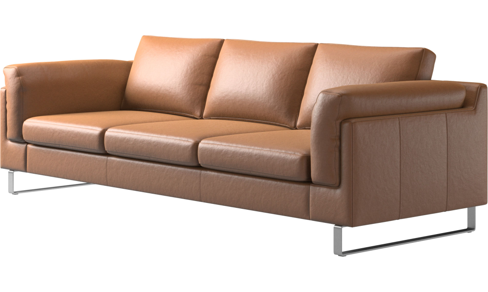 3 Sitzer Sofas Indivi Sofa Braun Leder With Images