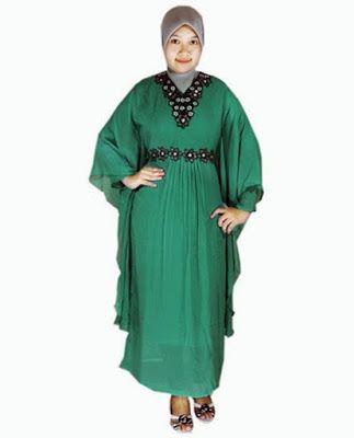 Contoh Model Baju Gamis Untuk Orang Gemuk Dan Pendek 2015 Model
