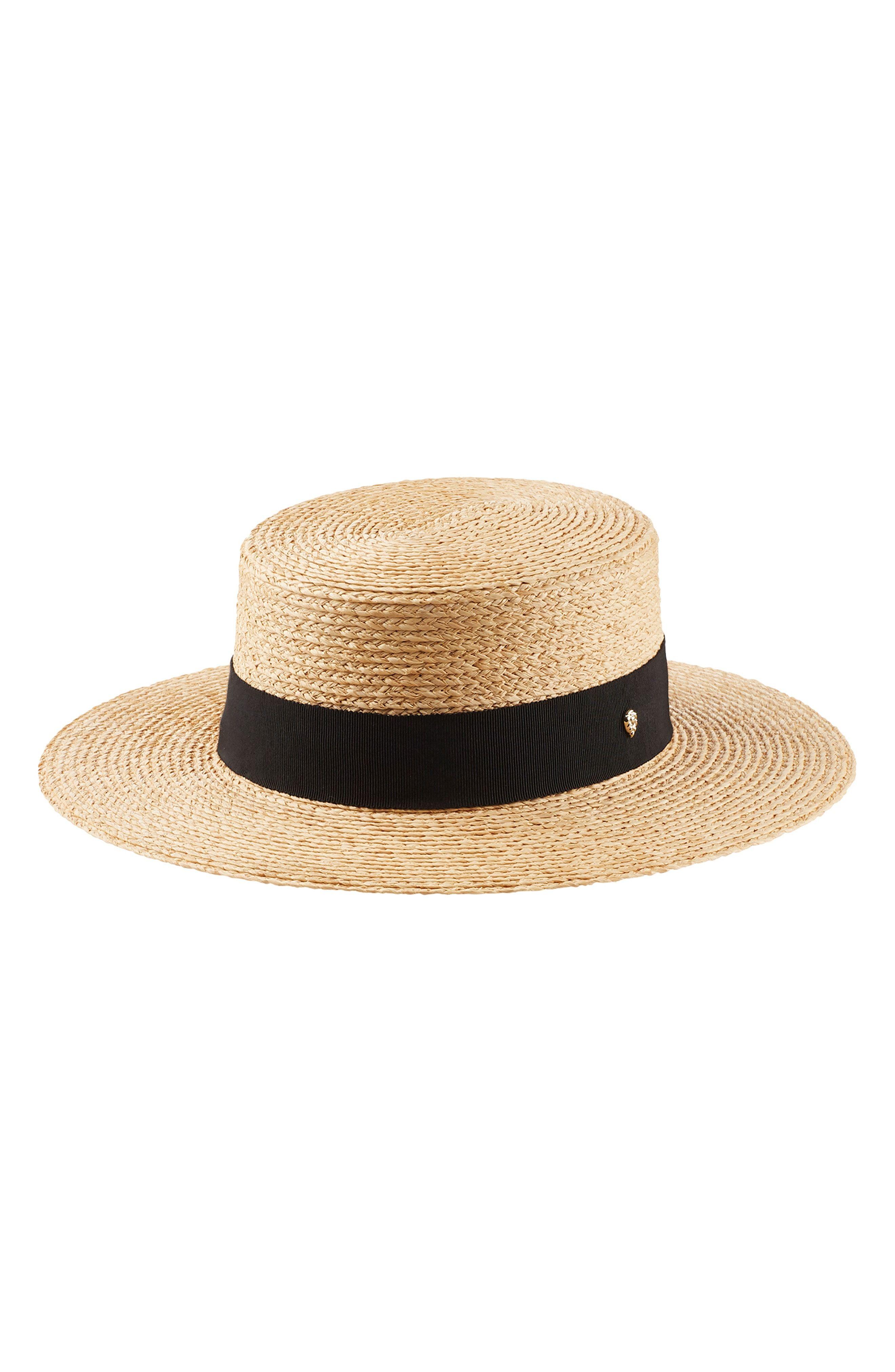 22ffe96b965d HELEN KAMINSKI RAFFIA BOATER HAT - BROWN. #helenkaminski   Helen ...