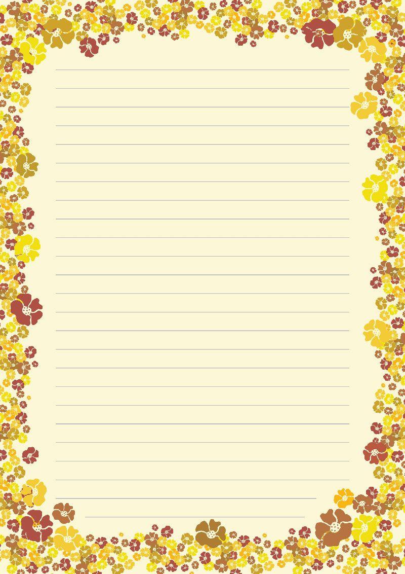 Оформление листа а4 рамки для написания текста картинки