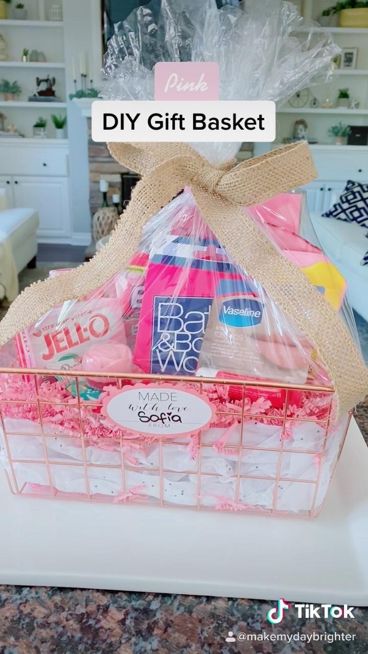 Diy Gift Basket Video Bff Birthday Gift 25th Birthday Gifts Diy Gifts