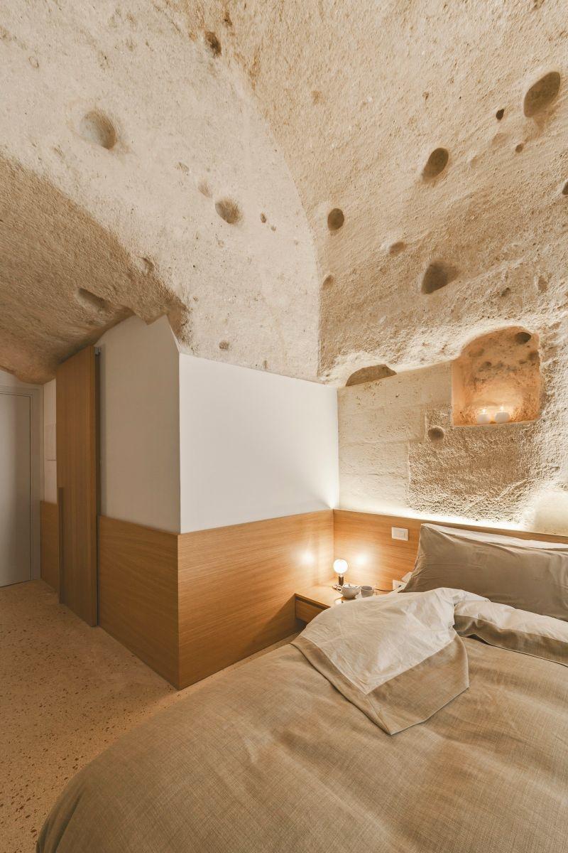 dimora bedroom set%0A Hotel La Dimora Di Metello is gebouwd in een grot   Manify nl