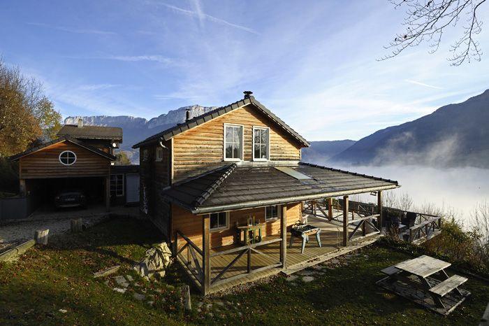 Maison De Montagne En Bois