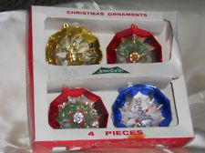 jewelbrite vintage ornaments