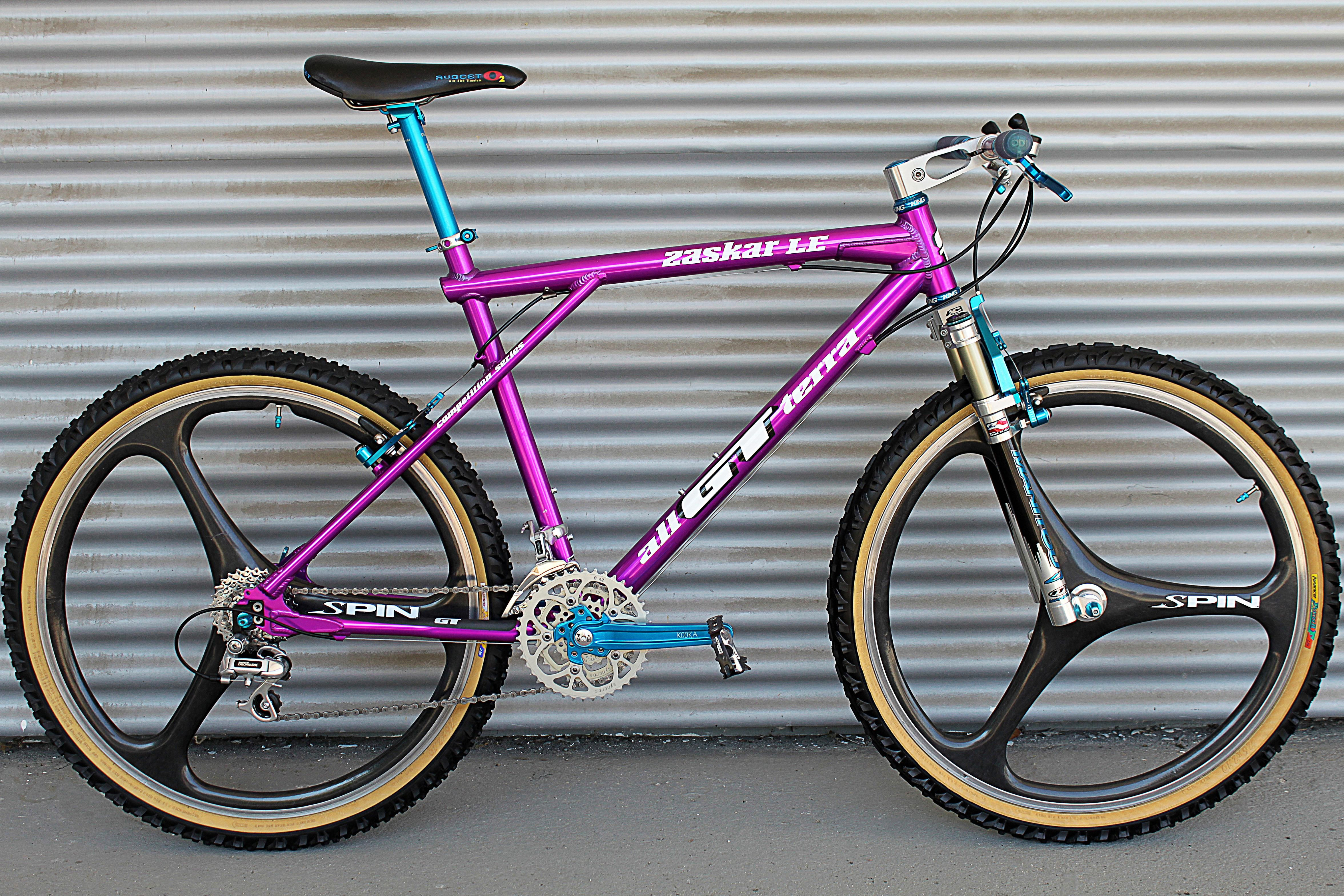 Gt Zaskar Le Gt Bikes Retro Bike Gt Mountain Bikes