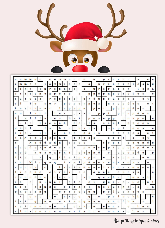 Escape game de Noël: calendrier de l'avent #bonpourcalendrierdelavent