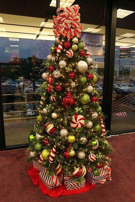 Most Beautiful Christmas Tree Decorations Ideas | Christmas tree ...