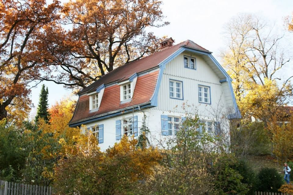 house of wassily kandinsky from 1909 1914 famous artists homes and rh pinterest com