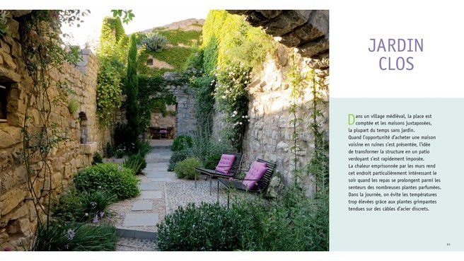 Livre cr er un jardin de style m diterran en sans - Creer un jardin mediterraneen ...