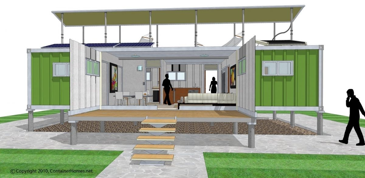 House Cargo Container Home Plans