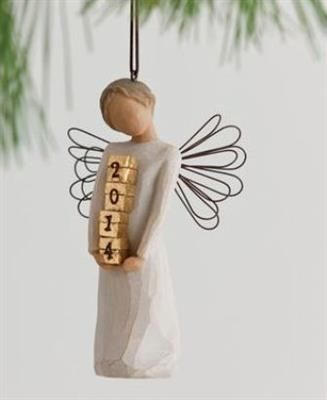 willow tree angel images | Willow Tree 2014 Angel Ornament | Mardel