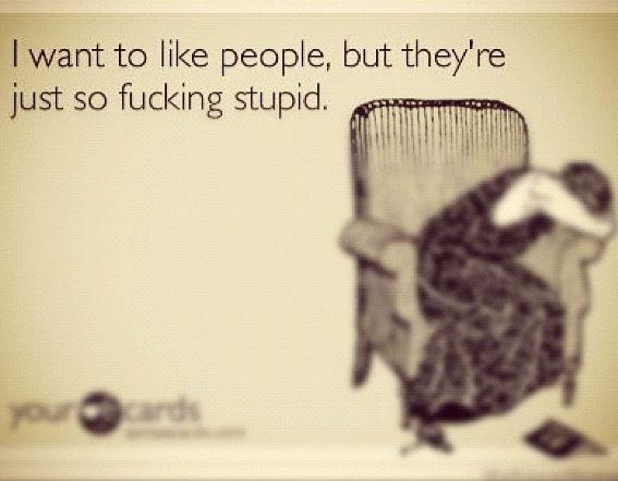 Ecard Stupid People