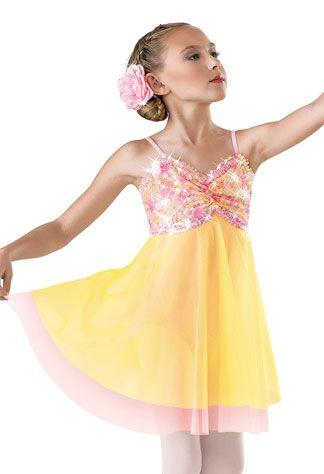 "NEW Weissman /""Ordinary Miracle/"" Dance Costume Skate Dress 6470 Adult"