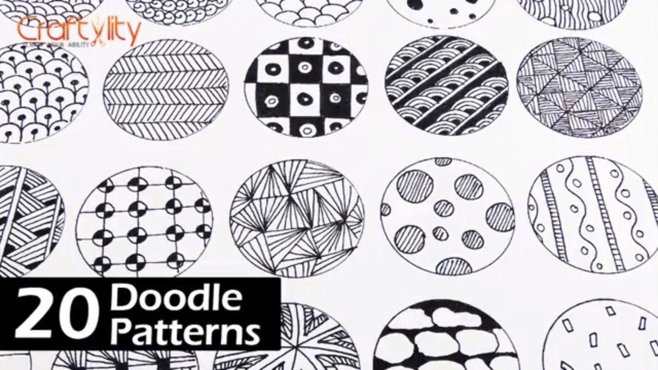 Afbeeldingsresultaat voor zentangle pattern