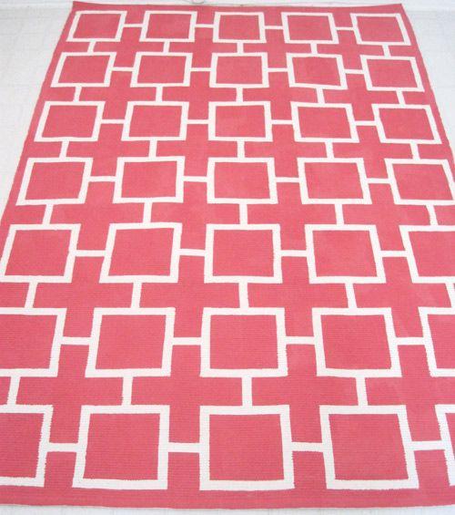 Before After Painted Geometric Rug Painted Rug Diy Rug Geometric Rug Design