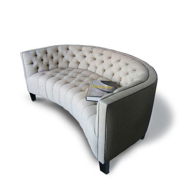 Fantastic Madison Regency Curved Loveseat Design Inspiration On Fab Machost Co Dining Chair Design Ideas Machostcouk