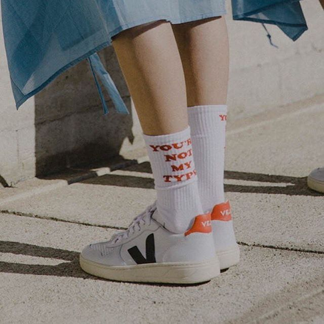 Tricolour Veja sneakers now available