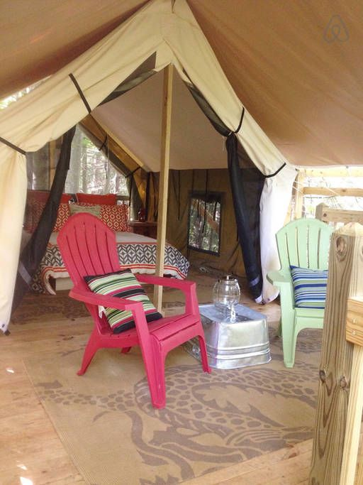 check out this awesome listing on airbnb tent cabin near asheville rh pinterest com