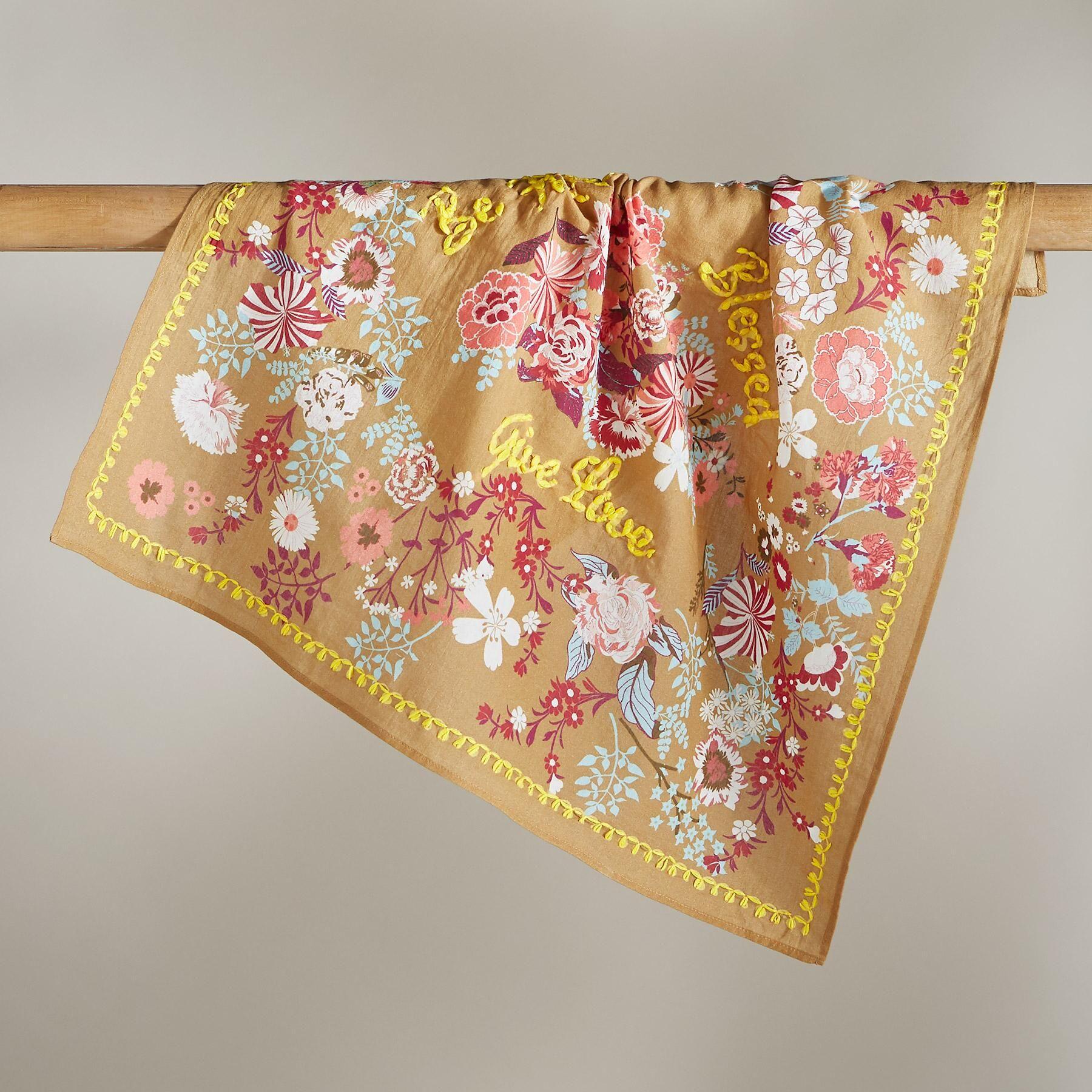 Embroidered cotton bandanas 1 in 2020 cotton bandanas