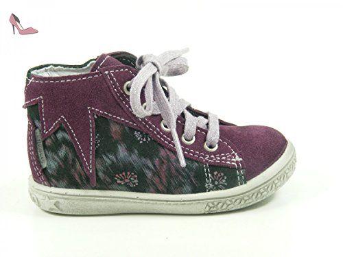 Ricosta Rena, Sneakers Basses fille - Gris - graphite, 20 EU