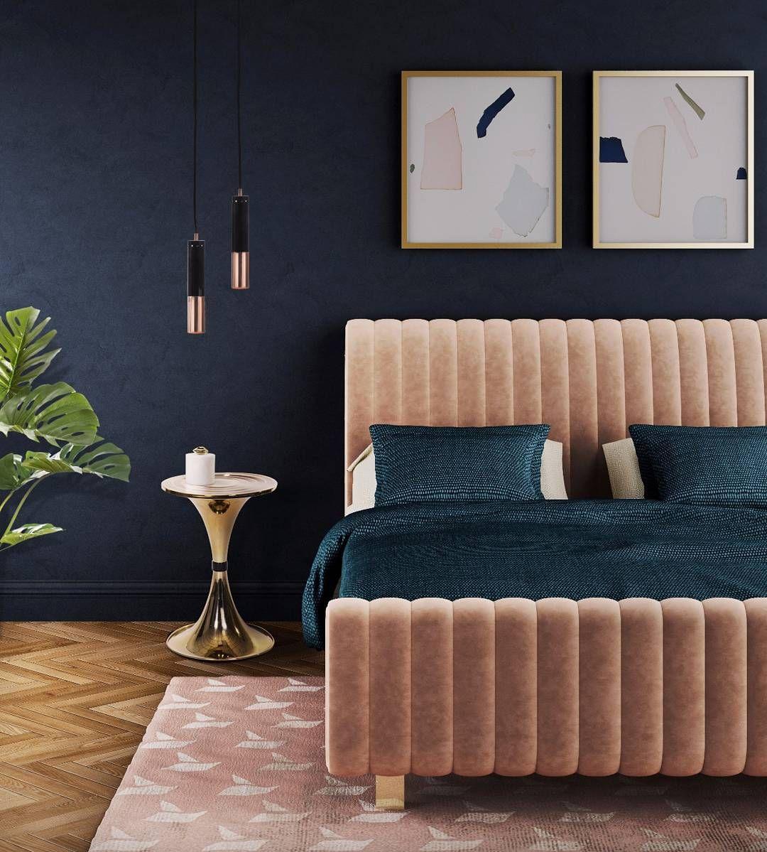modern bedroom designs%0A Boca do Lobo   bocadolobo  on Instagram   u   cCool and modern bedroom design