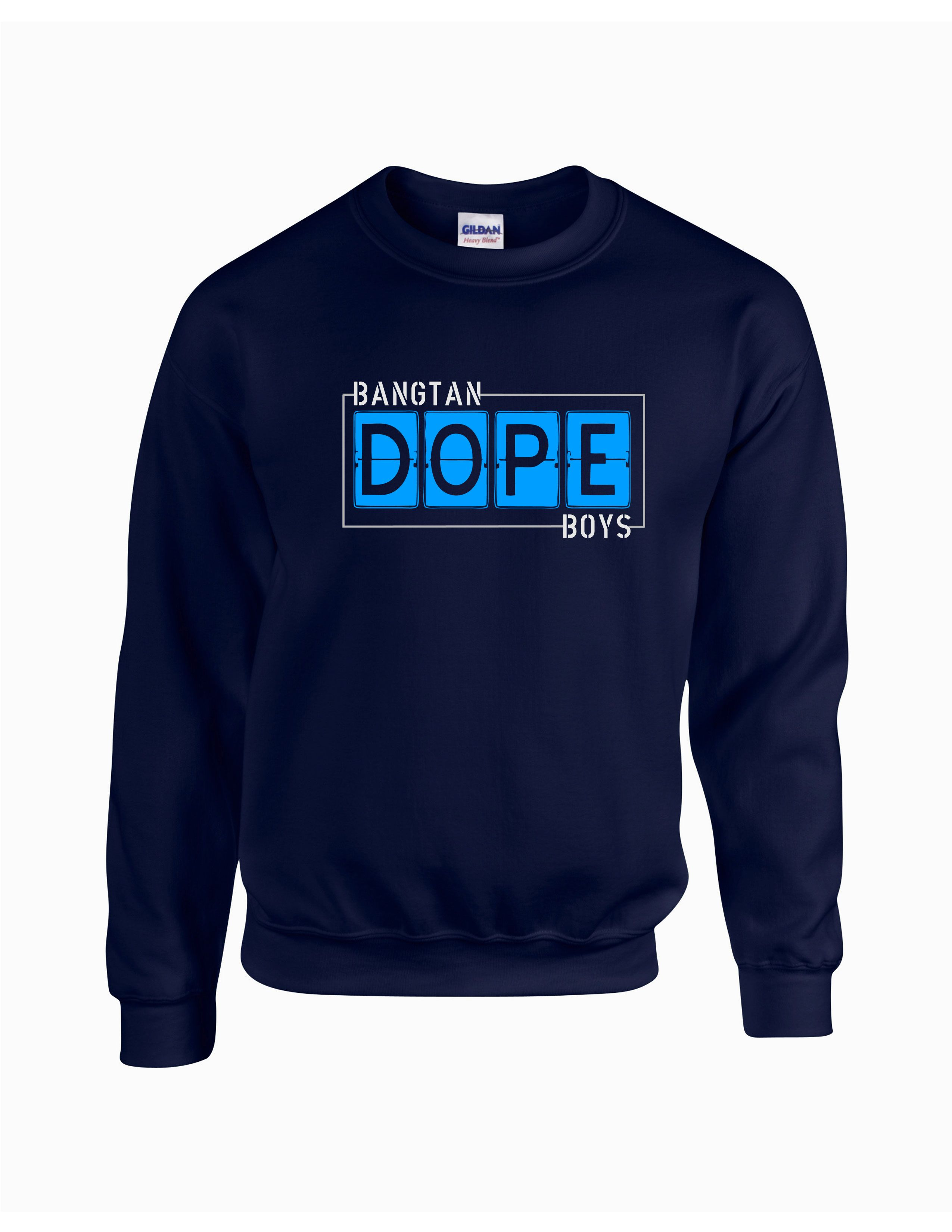BTS Dope Sweatshirt | Kpop shirts | Kpop shirts, Sweatshirts, Kpop