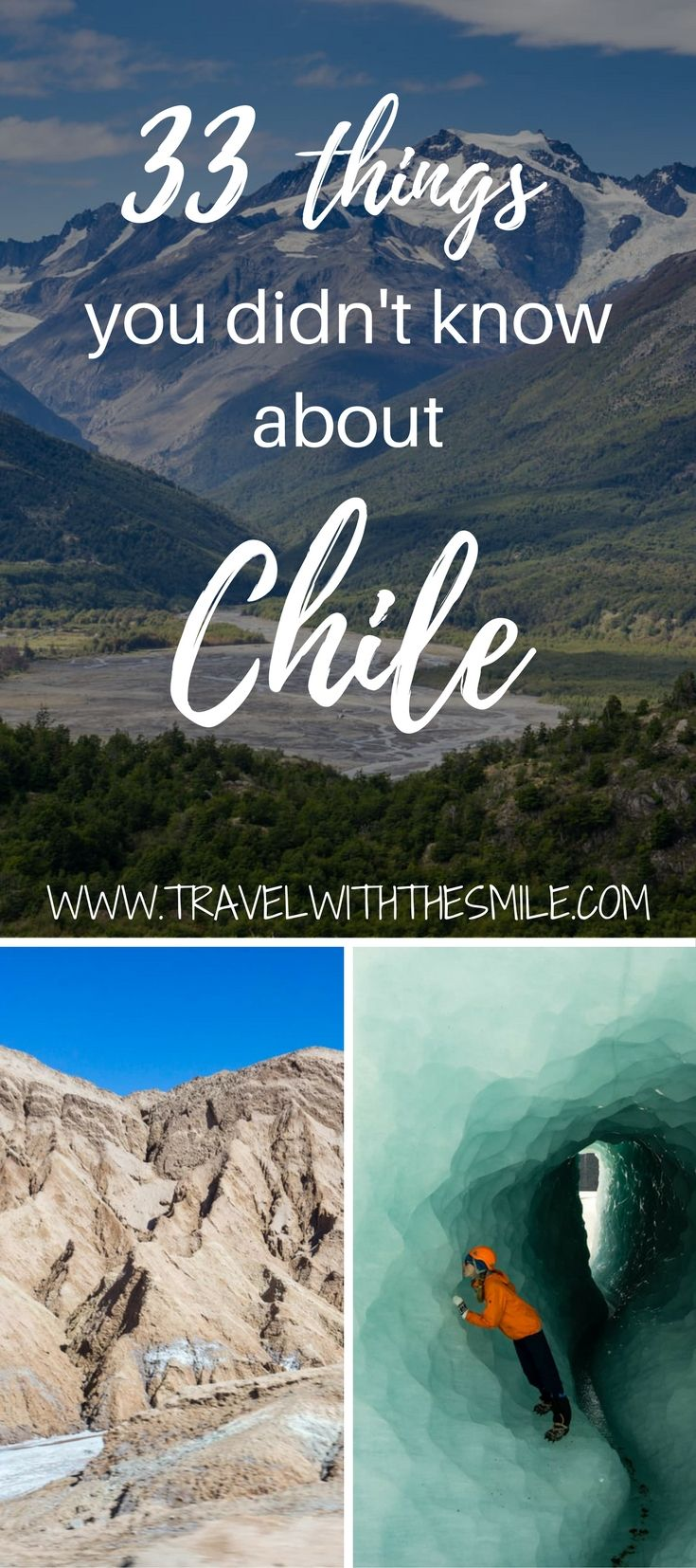 South America Map Chile%0A South america    Read our list of interesting facts about Chile  Chile is a  land of complete opposites